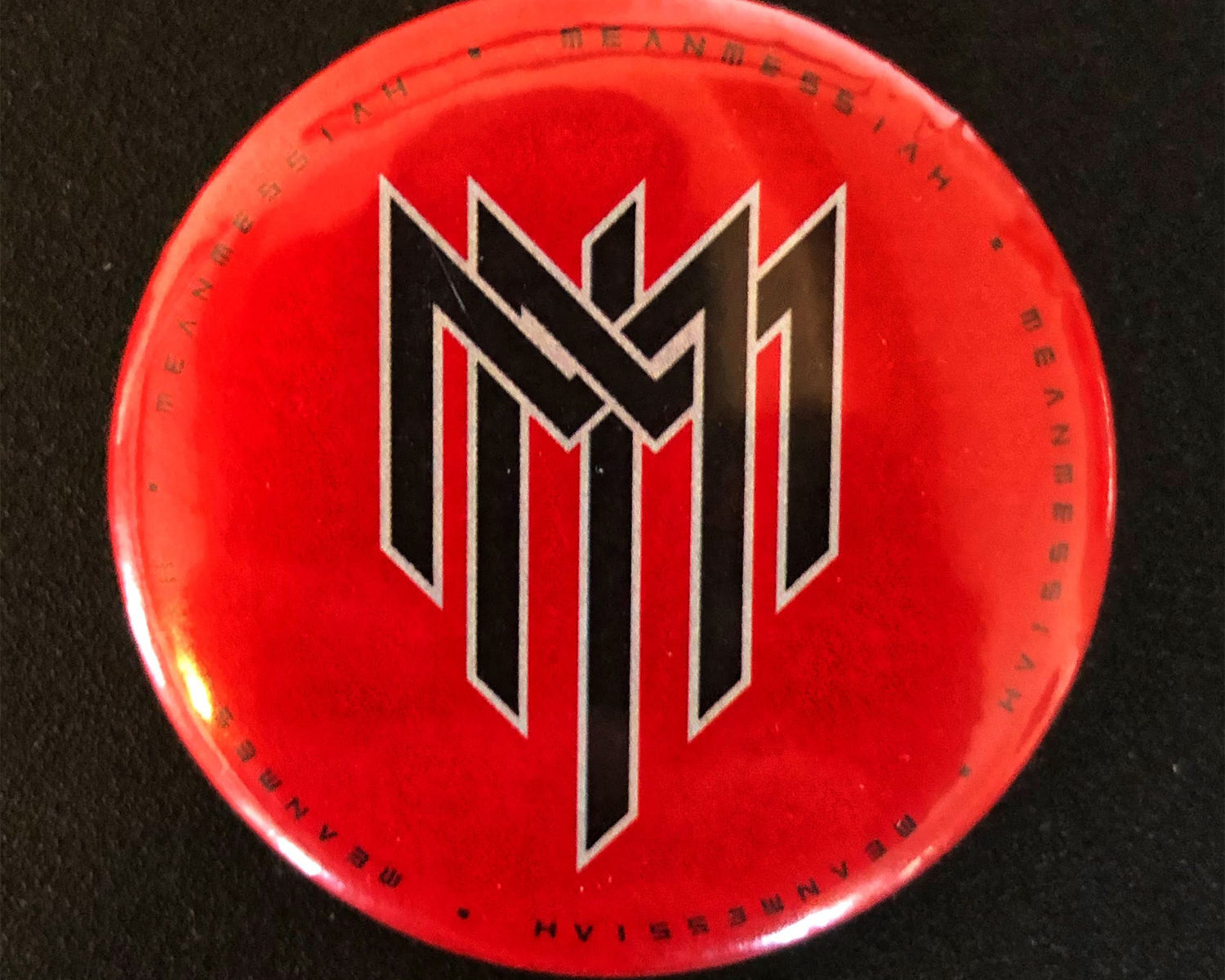 MM Red Button 45 mm