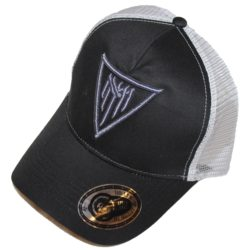 Trucker hat Gray with 3D Gray MM logo
