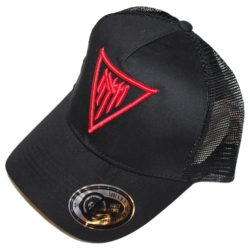 Trucker hat Black with 3D Red MM logo