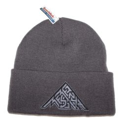 Beanie Gray with Mean Messiah logo