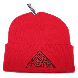 Beanie Red with Mean Messiah Logo